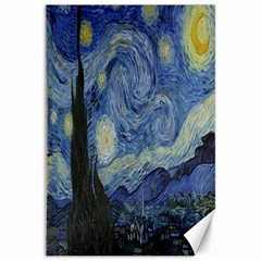 Starry night Canvas 20  x 30  (Unframed)
