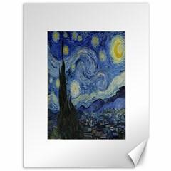 Starry night Canvas 36  x 48  (Unframed)
