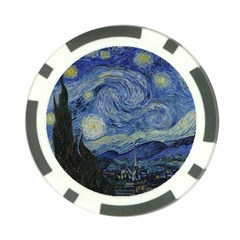 Starry Night Poker Chip