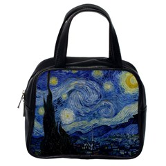 Starry night Classic Handbag (One Side)