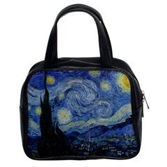 Starry night Classic Handbag (Two Sides)