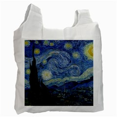 Starry night Recycle Bag (One Side)