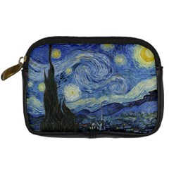 Starry night Digital Camera Leather Case