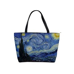 Starry night Large Shoulder Bag