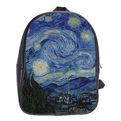 Starry night School Bag (Large)