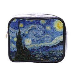 Starry night Mini Travel Toiletry Bag (One Side)