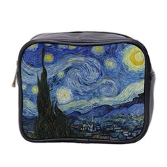 Starry night Mini Travel Toiletry Bag (Two Sides)