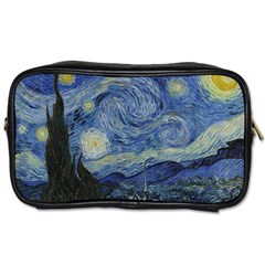 Starry Night Travel Toiletry Bag (two Sides)