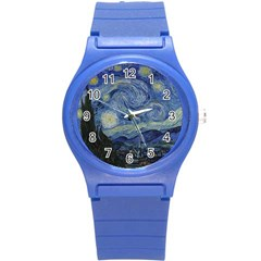 Starry night Plastic Sport Watch (Small)