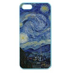 Starry night Apple Seamless iPhone 5 Case (Color)