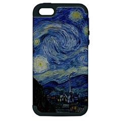 Starry night Apple iPhone 5 Hardshell Case (PC+Silicone)