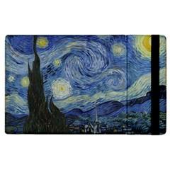 Starry night Apple iPad 3/4 Flip Case