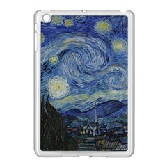 Starry night Apple iPad Mini Case (White)