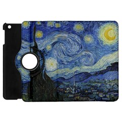 Starry Night Apple Ipad Mini Flip 360 Case