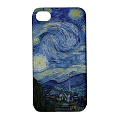 Starry night Apple iPhone 4/4S Hardshell Case with Stand