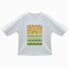 Along The Green Waves Baby T Shirt