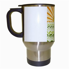 Along The Green Waves Travel Mug (White)
