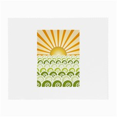 Along The Green Waves Glasses Cloth (Small)