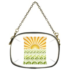 Along The Green Waves Chain Purse (one Side)