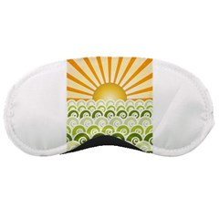 Along The Green Waves Sleeping Mask