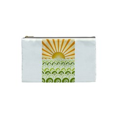 Along The Green Waves Cosmetic Bag (Small)