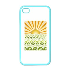 Along The Green Waves Apple Iphone 4 Case (color)