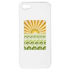 Along The Green Waves Apple Iphone 5 Hardshell Case