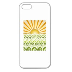 Along The Green Waves Apple Seamless iPhone 5 Case (Clear)