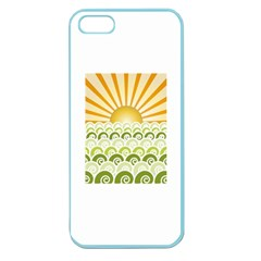 Along The Green Waves Apple Seamless iPhone 5 Case (Color)