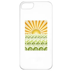 Along The Green Waves Apple iPhone 5 Classic Hardshell Case