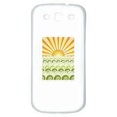 Along The Green Waves Samsung Galaxy S3 S III Classic Hardshell Back Case