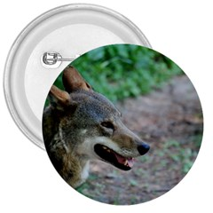 Red Wolf 3  Button