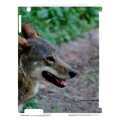 Red Wolf Apple iPad 2 Hardshell Case (Compatible with Smart Cover)
