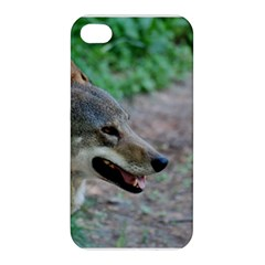 Red Wolf Apple Iphone 4/4s Premium Hardshell Case