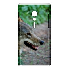 Red Wolf Sony Xperia ion Hardshell Case