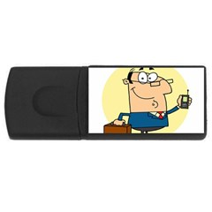 Phonecase1 4GB USB Flash Drive (Rectangle)