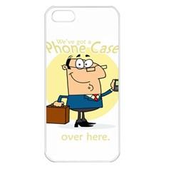 Phonecase1 Apple iPhone 5 Seamless Case (White)