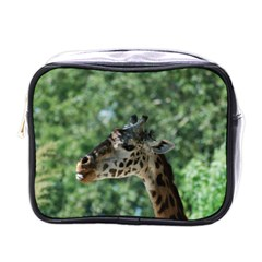 Cute Giraffe Mini Travel Toiletry Bag (one Side)