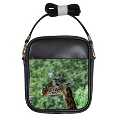 Cute Giraffe Girl s Sling Bag