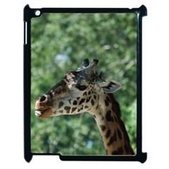 Cute Giraffe Apple iPad 2 Case (Black)