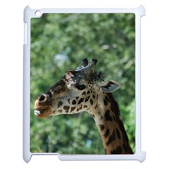 Cute Giraffe Apple iPad 2 Case (White)