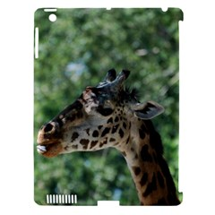 Cute Giraffe Apple iPad 3/4 Hardshell Case (Compatible with Smart Cover)