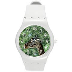 Cute Giraffe Plastic Sport Watch (Medium)
