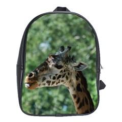 Cute Giraffe School Bag (XL)