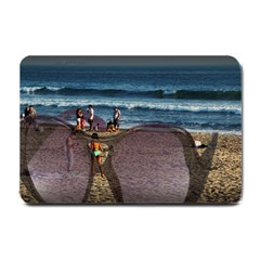 A  Great Day For The Beach Small Door Mat