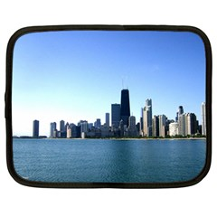 Chicago Skyline Netbook Case (Large)