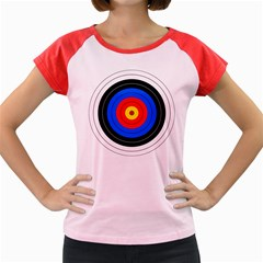 Target Women s Cap Sleeve T-Shirt (Colored)