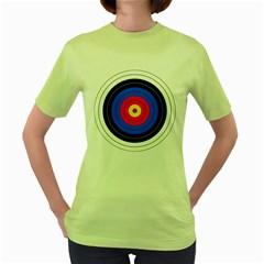 Target Womens  T-shirt (Green)