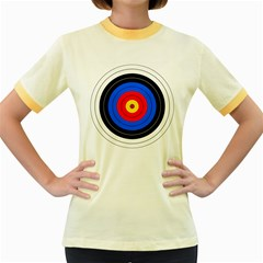 Target Womens  Ringer T-shirt (Colored)
