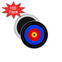Target 1 75  Button Magnet (100 Pack)